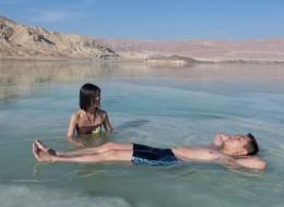 День отдыха на Мертвом море - пляж-70