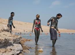 День отдыха на Мертвом море - пляж-71